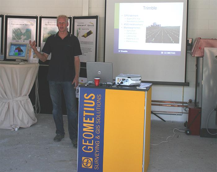 Dennis Nijland start landbouw afdeling Geometius