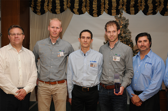 Trimble Reseller of the year 2016