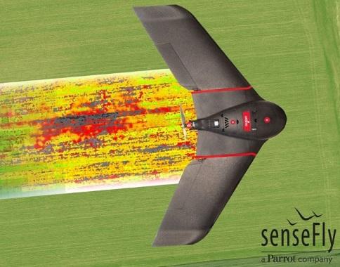 eBee SQ drone